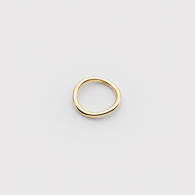 HAIR BAND RING [18K]