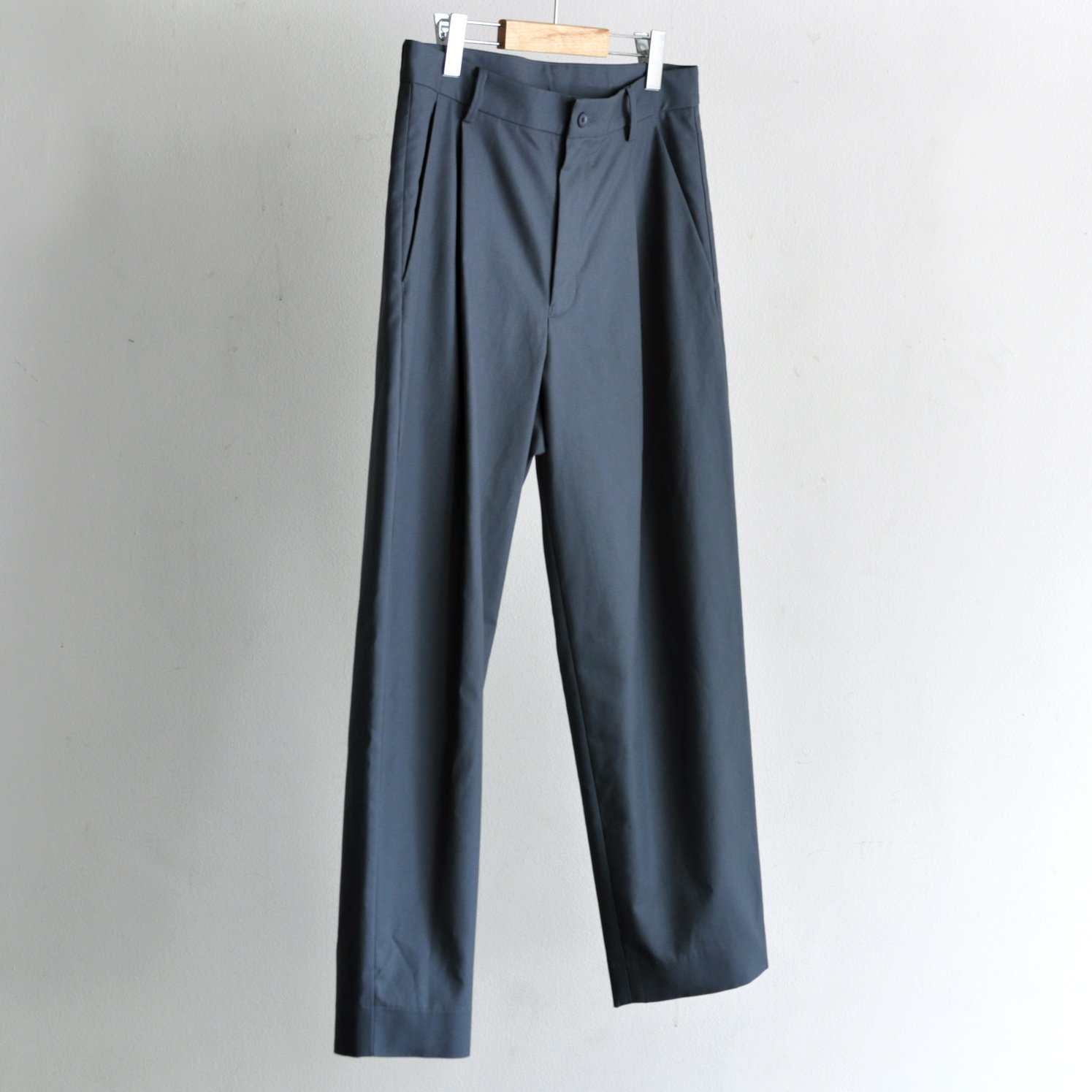 GIZA OXFORD TAPERED PANTS [BLUEGRAY]