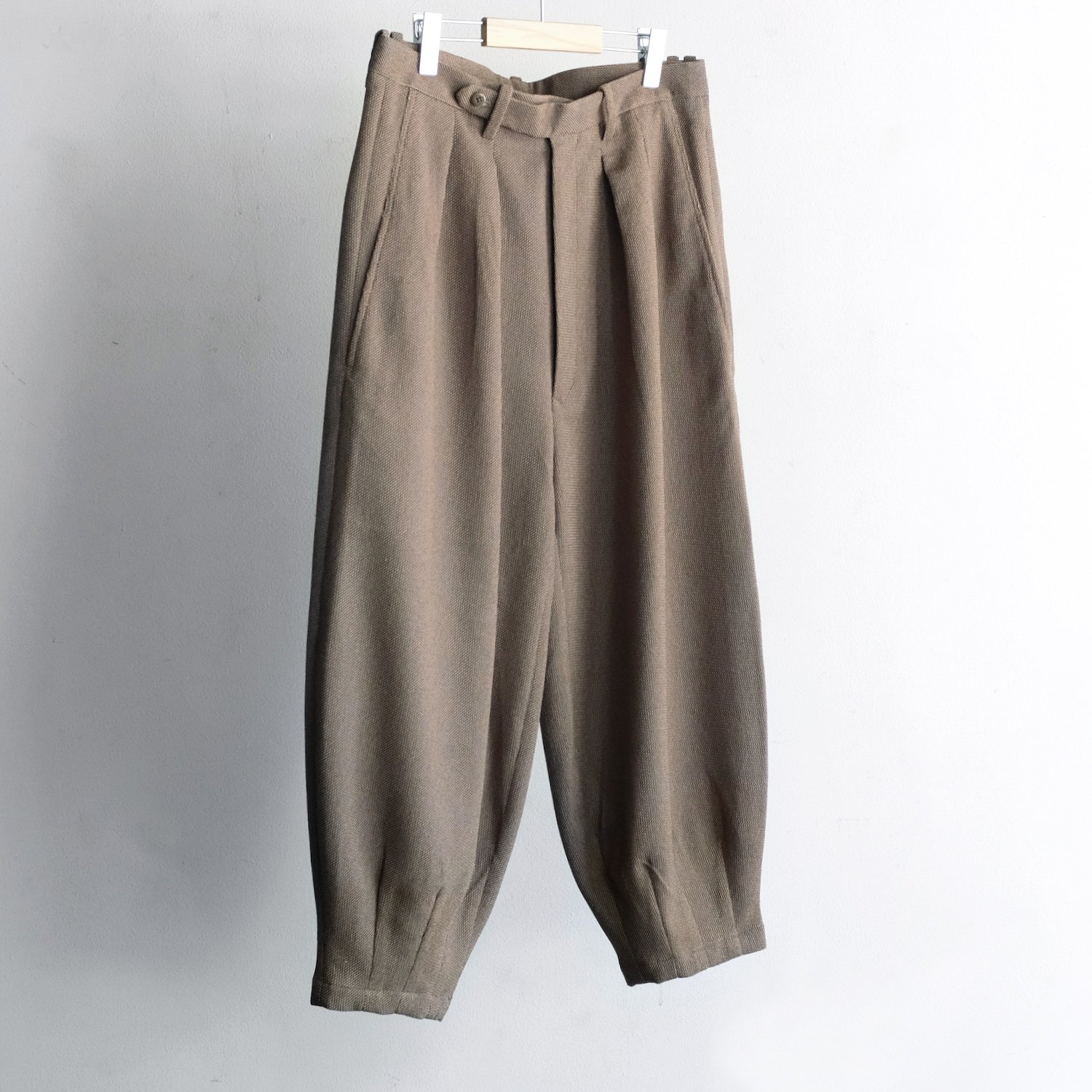 HARLEM PANTS [MIX BEIGE CANVAS]