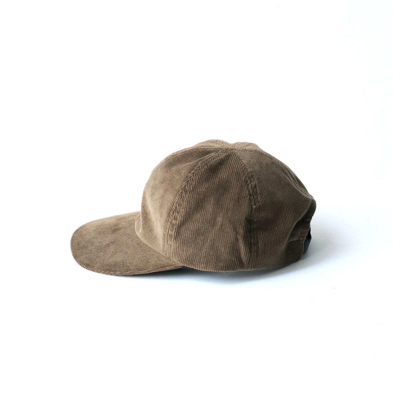 CORDUROY CAP [BROWN]