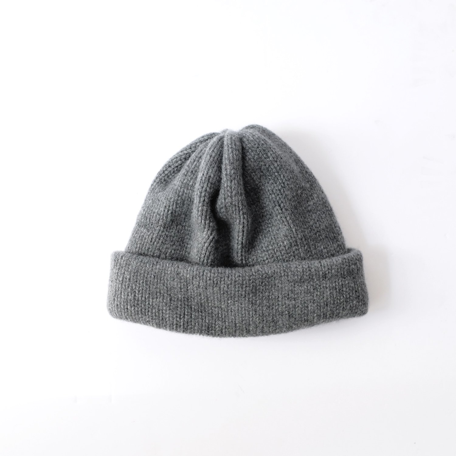 CASHMERE 100 KNIT [GRAY]