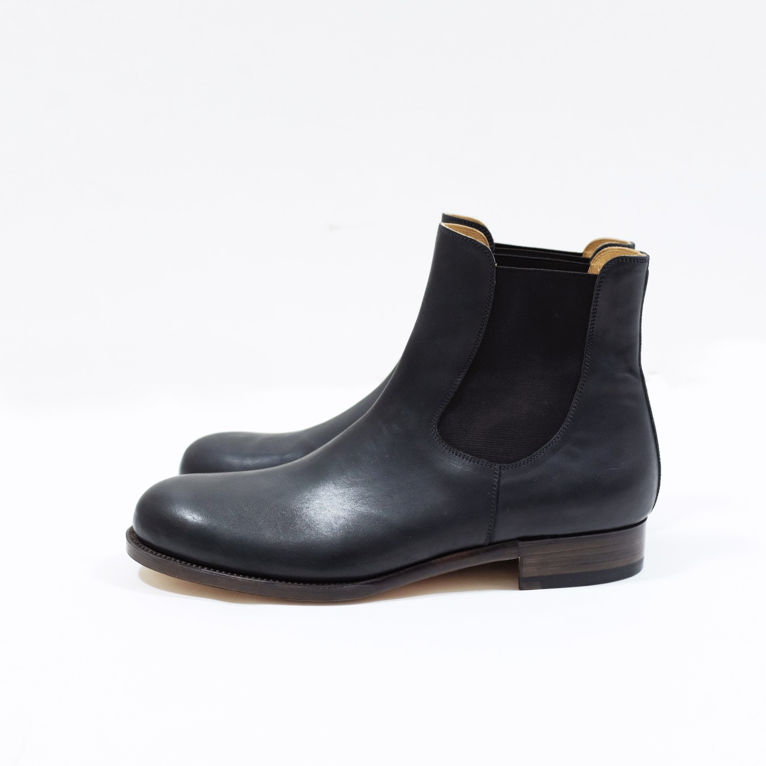 SIDE GORE BOOTS � [BLACK/Incal horse]