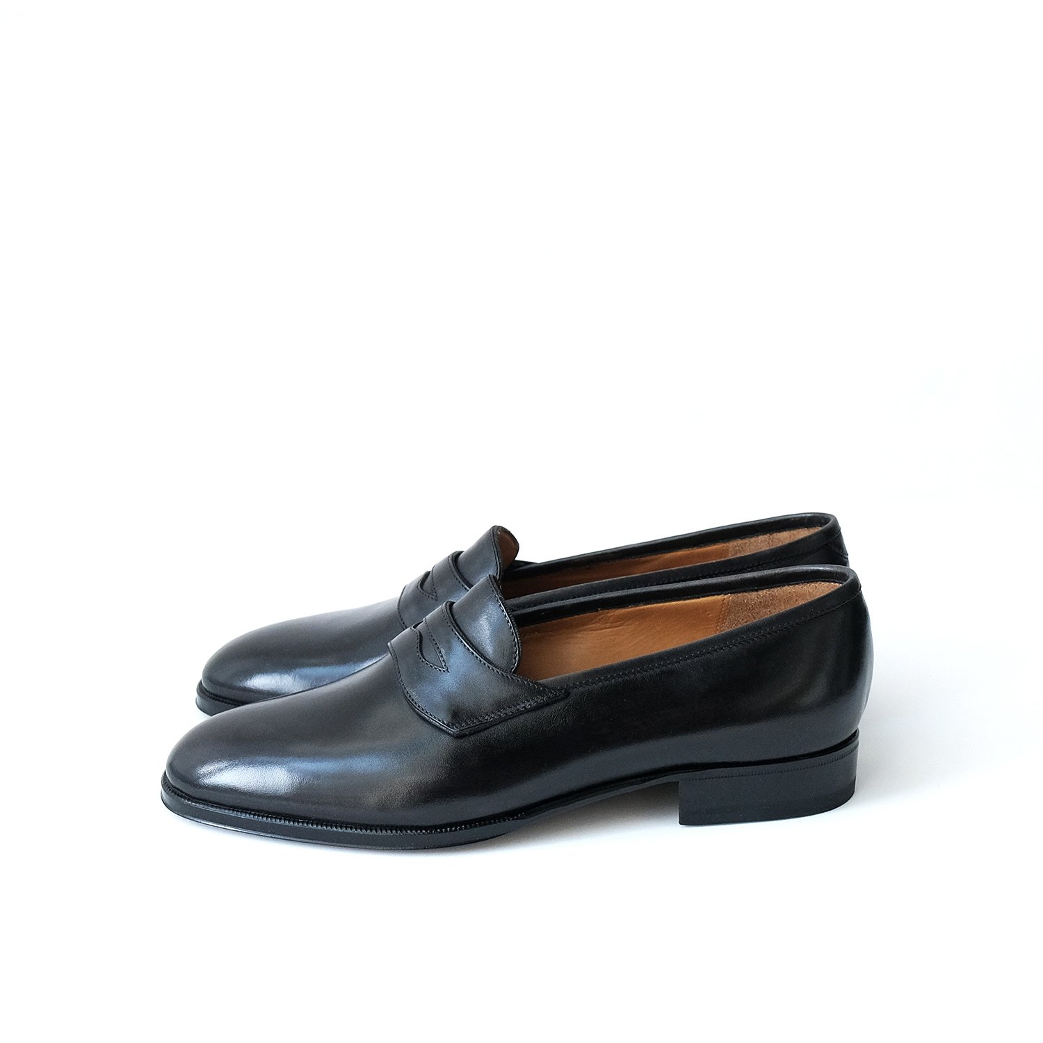 SADDLE SLIP ON [BLACK/ILCEA Betis Calf]