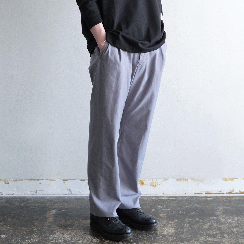 PE/RA TUCK SARROUEL PANTS [M.GRAY]