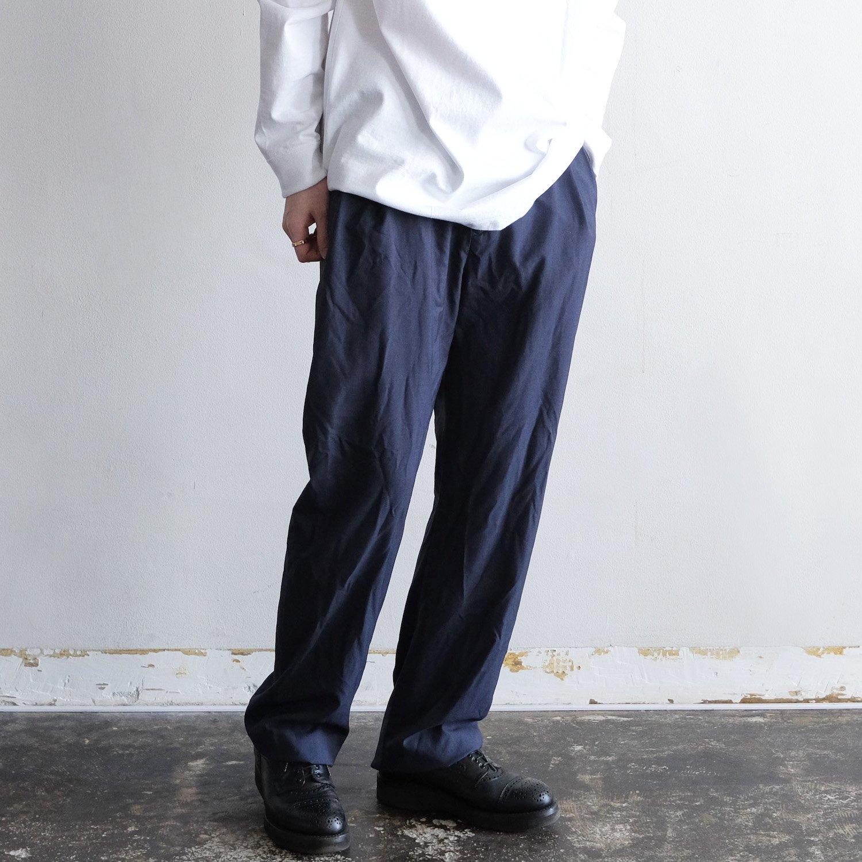 PE/RA TUCK SARROUEL PANTS [INK BLUE]