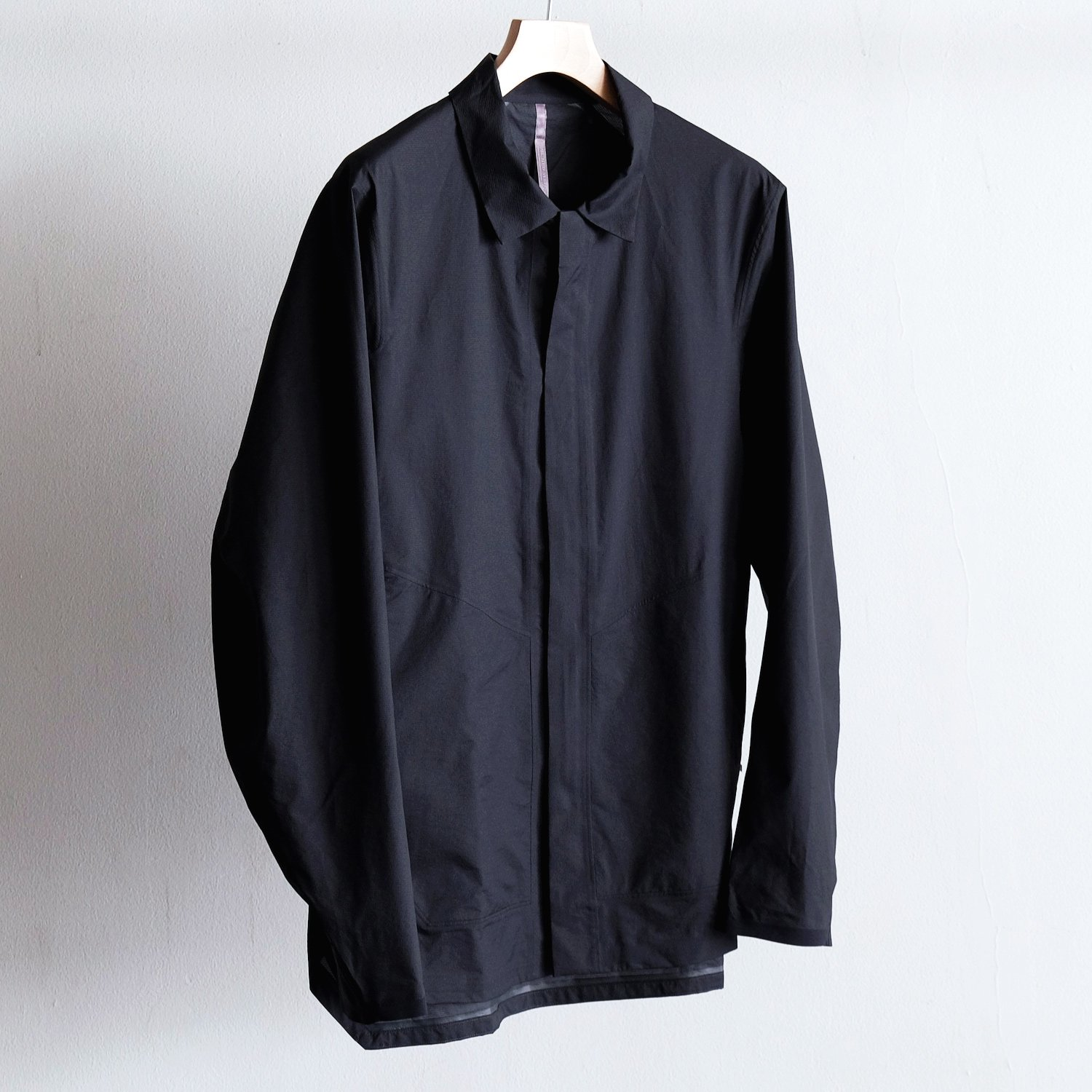 DEMLO SL SHIRT JACKET [BLACK]