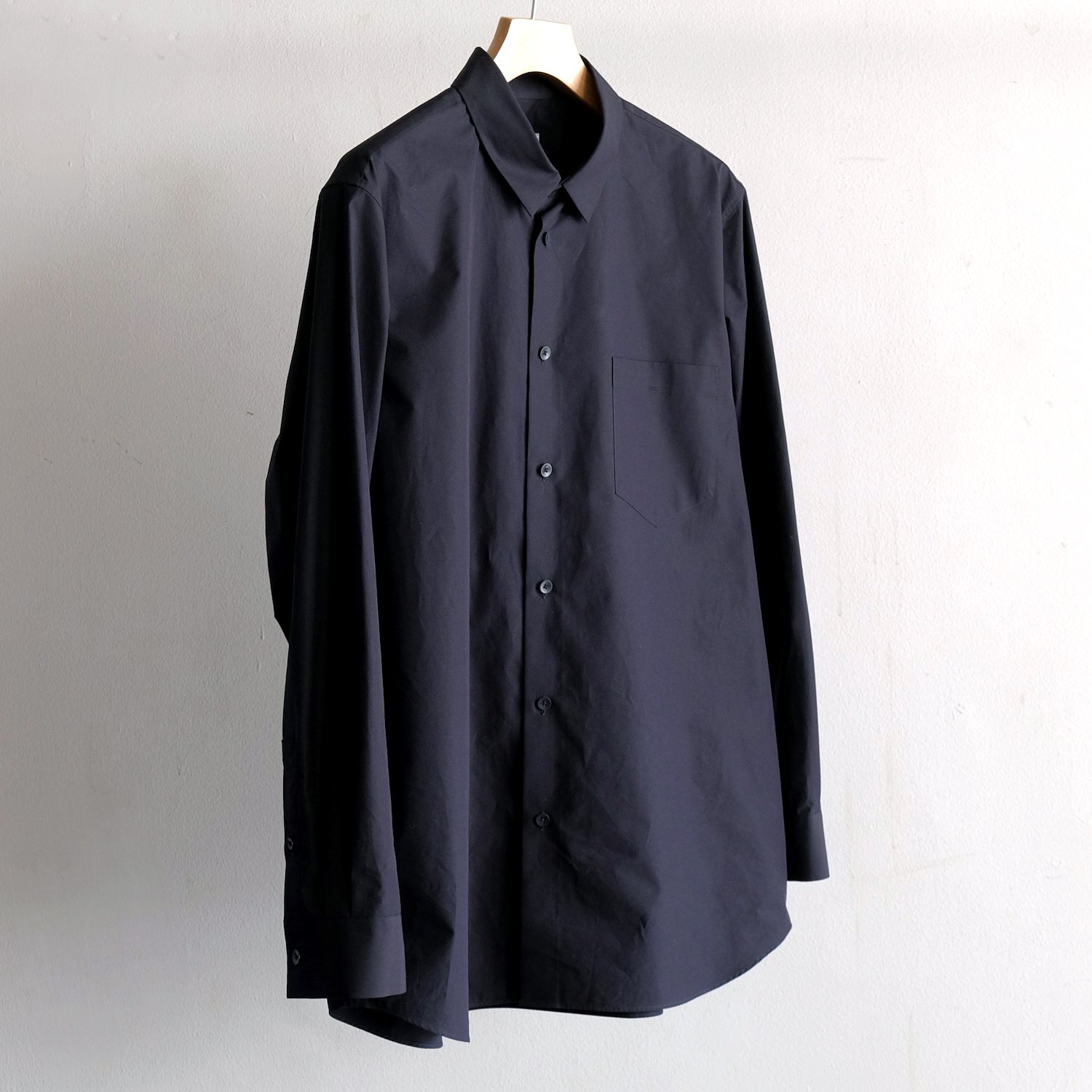 GIZA OVERSIZED SHIRT [NAVY]