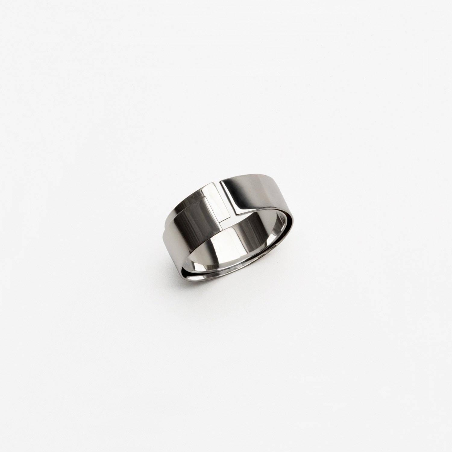 TAPE RING FOLD [SILVER]