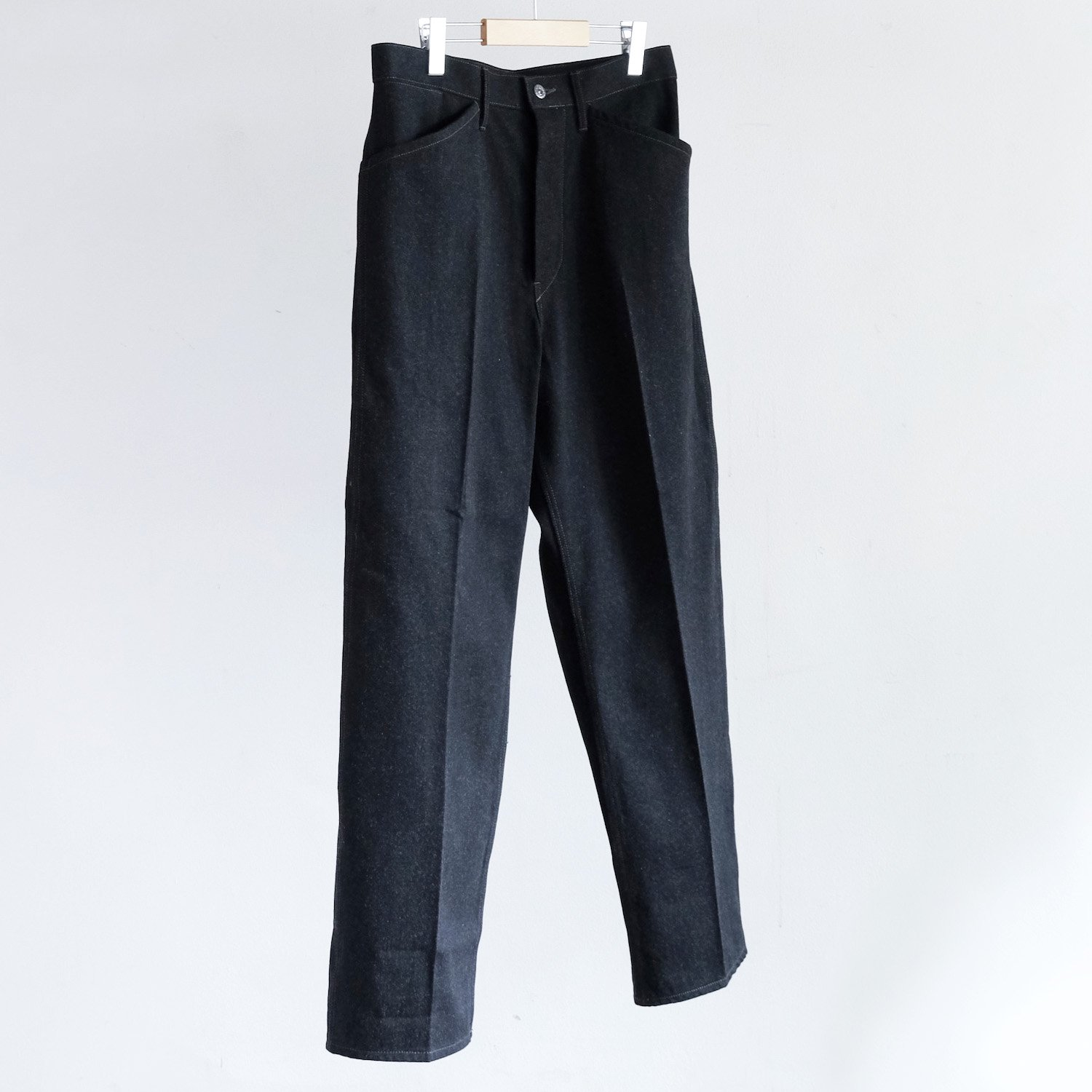 WORK TROUSERS [BLACK / SULFUR DYES]