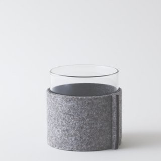 felt sleeve for VISION GLASS LW [LIGHT GRAY & GRAY]