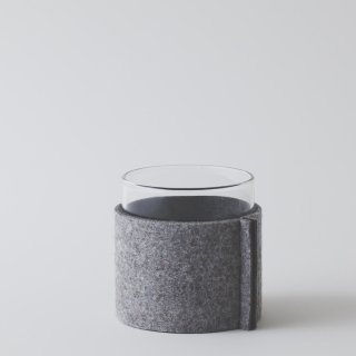 felt sleeve for VISION GLASS S/M/LH [LIGHT GRAY & GRAY]