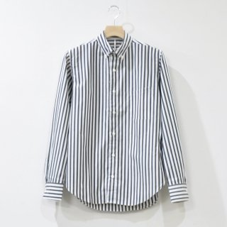 BUTTON-DOWN SHIRTS [WH / BK STRIPE]