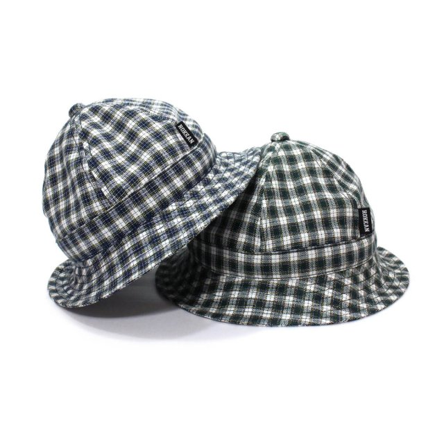 ROKKAN O.C.EXTRA_METRO HAT. (Checkered)