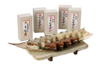 京のうなぎ 「笹寿司」セット