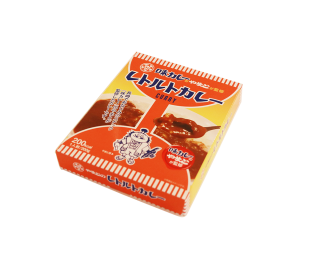 大和製菓が監修 レトルトカレー