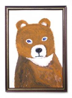 「クマの肖像-5(ミヤハラヨウコ)」