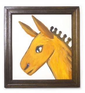 「ロバの肖像(ミヤハラヨウコ)」