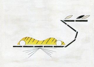 「竹に虎(杉山陽平)」