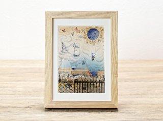 西谷直子「青い月の下」