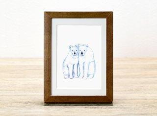 ミヤハラヨウコ「polar bears」