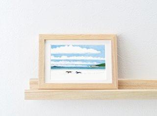 ミヤハラヨウコ「dogs/Wadden Sea」