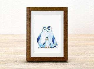 ミヤハラヨウコ「penguin family」