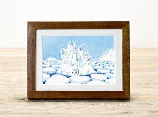 ミヤハラヨウコ「penguins / ice floe」