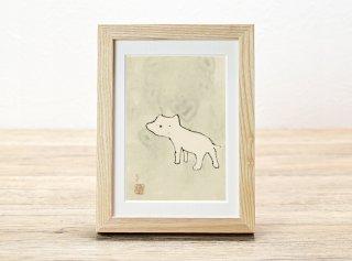 市村陽平「犬図」