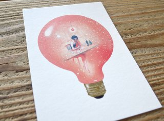 嶽まいこ「Light bulb_Memory of write a letter [手紙]」