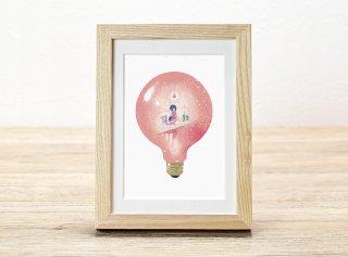 嶽まいこ「Light bulb_Memory of write a letter [手紙]」