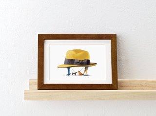 嶽まいこ「Secret hat_Two dogs [二匹の犬]」