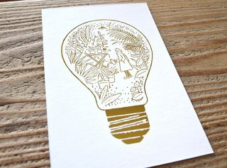 嶽まいこ「Light bulb_Memory of garden [庭]」