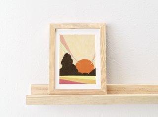 長田哲「electronic music world (setting sun)」