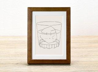 永井雄二「グラスと氷」