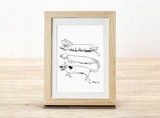 ミヤギユカリ「ひなたぼっこ」