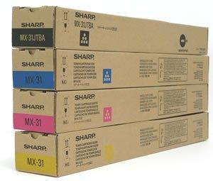 シャープトナー MX31シリーズ 4色セット