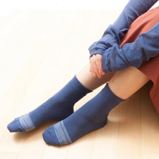 【葛更紗-くずさらさ-】奈良の葛繊維でつくった上質な靴下