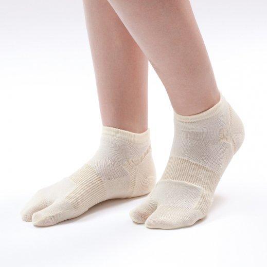 外反母趾対策靴下 はくだけで足の指がラクにひらく【こっそり重ね履き】靴下