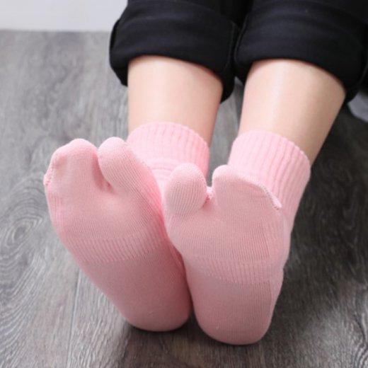 外反母趾対策靴下 はくだけで足の指がラクにひらく靴下