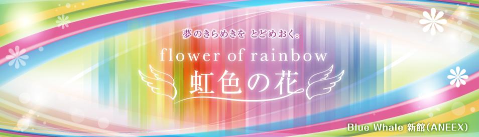 虹色の花*天然石とワイヤーワークアクセサリー*