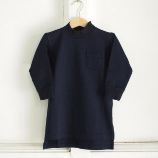 <img class='new_mark_img1' src='//img.shop-pro.jp/img/new/icons12.gif' style='border:none;display:inline;margin:0px;padding:0px;width:auto;' />Mock Neck Long Jersey - Navy