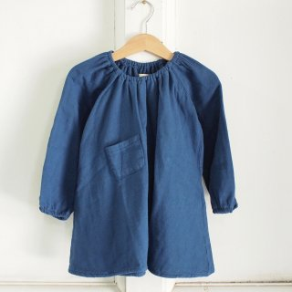 <img class='new_mark_img1' src='//img.shop-pro.jp/img/new/icons12.gif' style='border:none;display:inline;margin:0px;padding:0px;width:auto;' />Peasant Dress + bloomer - Navy