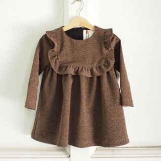 <img class='new_mark_img1' src='//img.shop-pro.jp/img/new/icons20.gif' style='border:none;display:inline;margin:0px;padding:0px;width:auto;' />TEAM FOR A DREAM - mini dress - glitter bronze