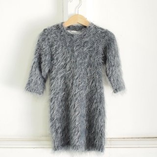 <img class='new_mark_img1' src='//img.shop-pro.jp/img/new/icons20.gif' style='border:none;display:inline;margin:0px;padding:0px;width:auto;' />TEAM FOR A DREAM - long hairy dress - wooly grey