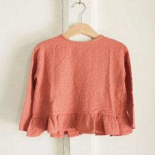 <img class='new_mark_img1' src='//img.shop-pro.jp/img/new/icons12.gif' style='border:none;display:inline;margin:0px;padding:0px;width:auto;' />Folk Cross Blouse - Terracotta