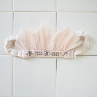 <img class='new_mark_img1' src='//img.shop-pro.jp/img/new/icons12.gif' style='border:none;display:inline;margin:0px;padding:0px;width:auto;' />Feather band Hyacinth - Pale Pink
