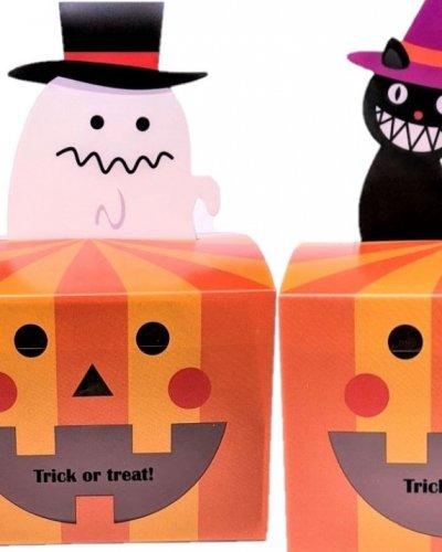 黒猫とおばけ