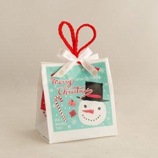 クリスマスミントブルーキューブバッグ