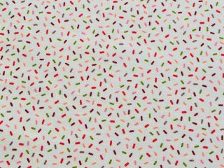 JUST ANOTHER WALK / OF COURSE SPRINKLES / CREAM   by Moda Fabrics