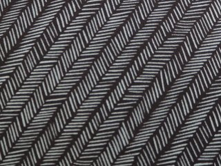 HAZELWOOD / HERRINGBONE / CHARCOAL - ROBIN'S EGG  by Moda Fabrics